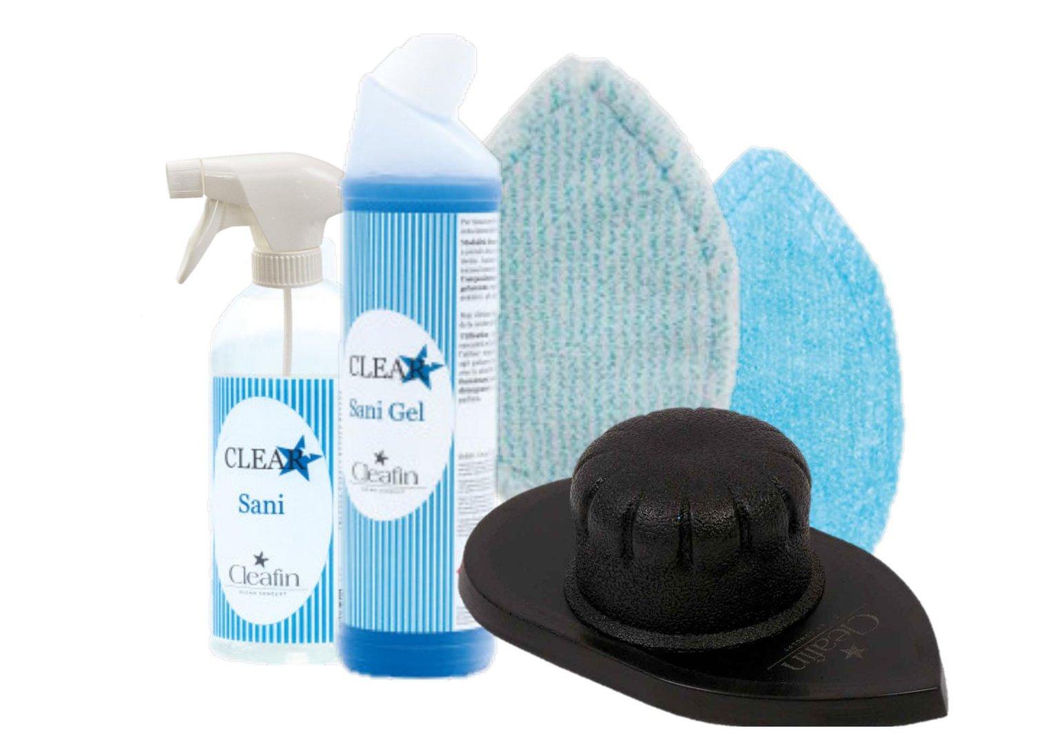 cleafin padholder bad set t rkis clean shop24. Black Bedroom Furniture Sets. Home Design Ideas